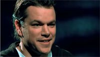 Actor Matt Damon's Cause for Clean Drinking Water