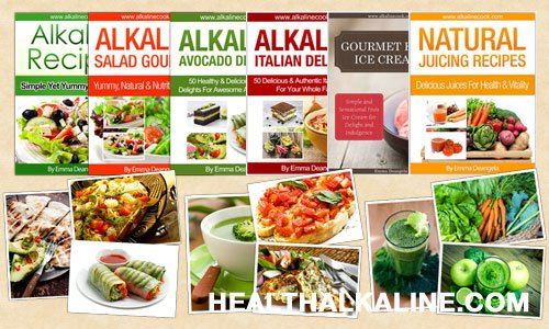 Alkaline Foods Cookbooks