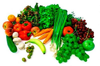 Vegetable Colors and Nutrition Balanced Diet AcidAlkaline Food