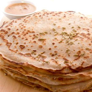 Alkaline Recipes - Buckwheat Crepes with Alkaline Syrup