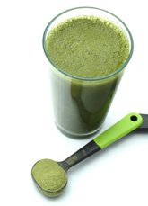 alkaline green juice drink