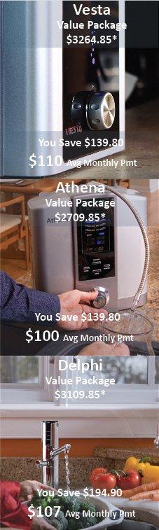 Buy AlkaViva Alkaline Water Ionizers