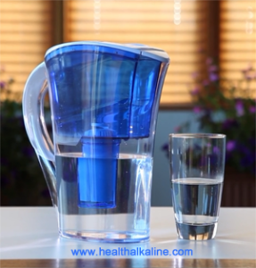 New Alkaviva pHD alkaline water pitcher
