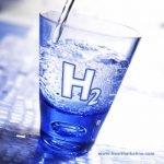 Molecular hydrogen rich alkaline water