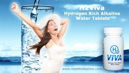 H2viva tablets, hydrogen pills for hydrogen-rich water