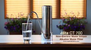 alkaline water filter: elita non-electric water ionizer