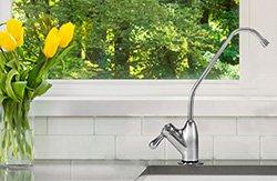 elita US-700 undersink water filter installed in the kitchen