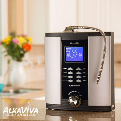 Alkaline water ionizer machine: Vesta H2